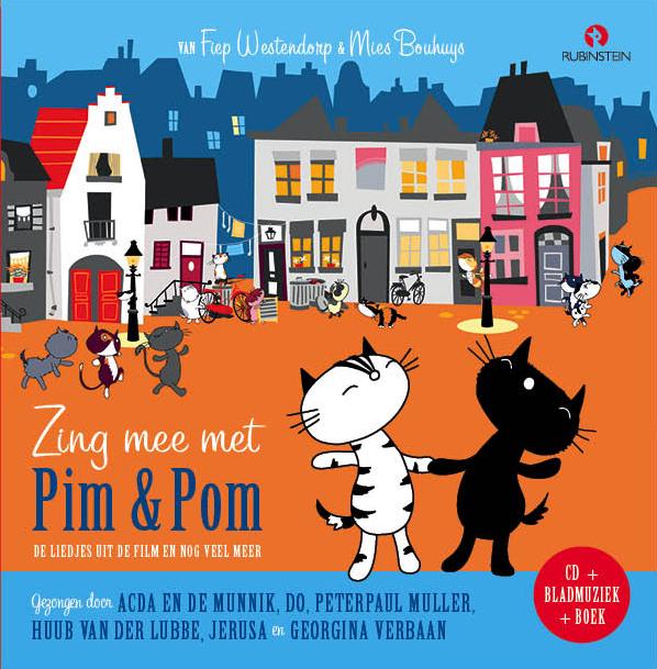 Zing mee met Pim en Pom Boek omslag