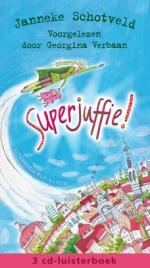 Superjuffie luisterboek Boek omslag