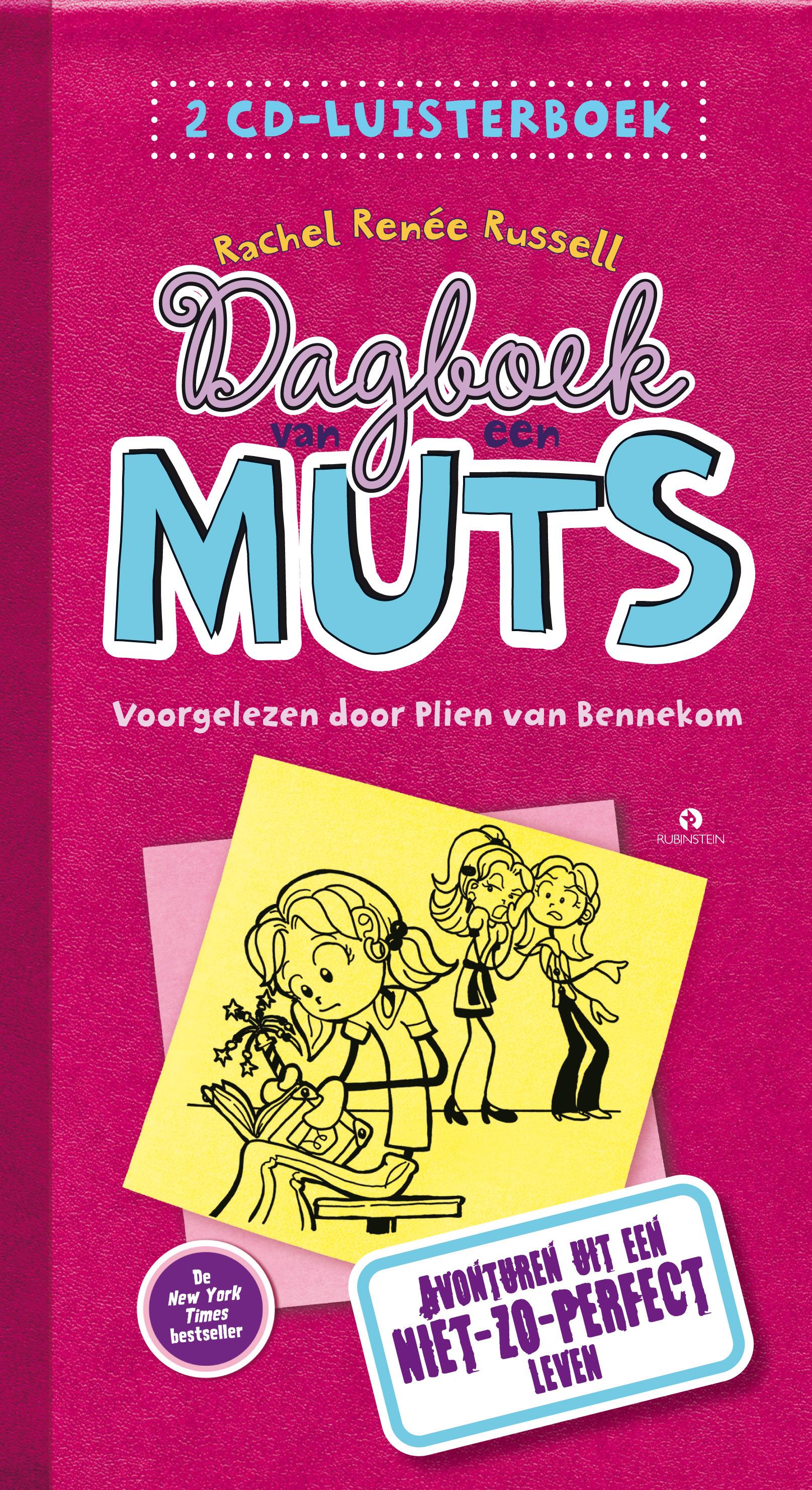 Dagboek van een muts: Avonturen uit een niet zo perfect leven luisterboek Boek omslag