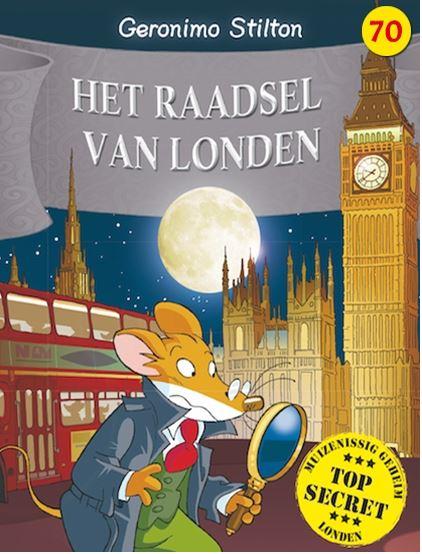 Raadsel van Londen, het Book Cover