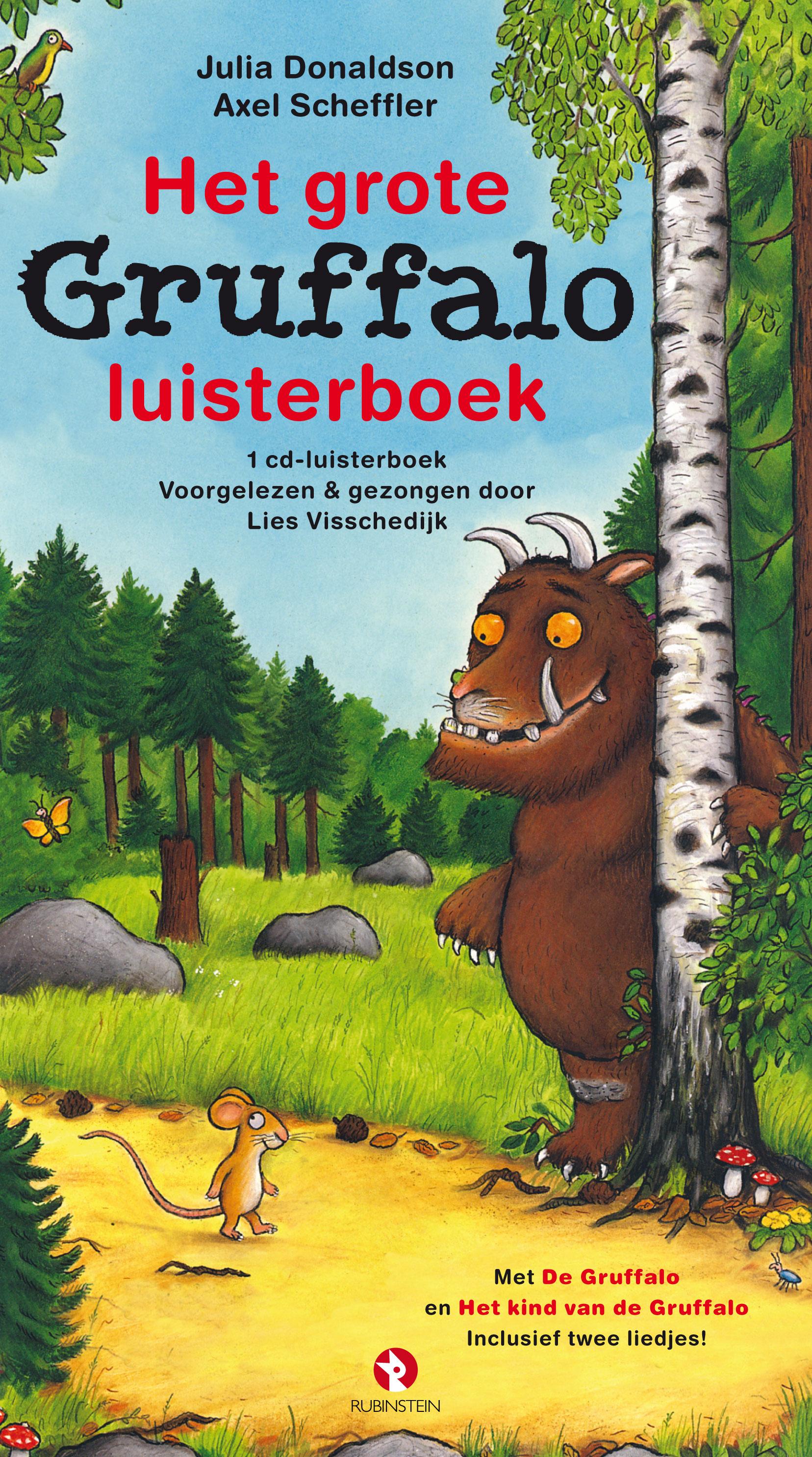 Grote Gruffalo luisterboek, het Boek omslag