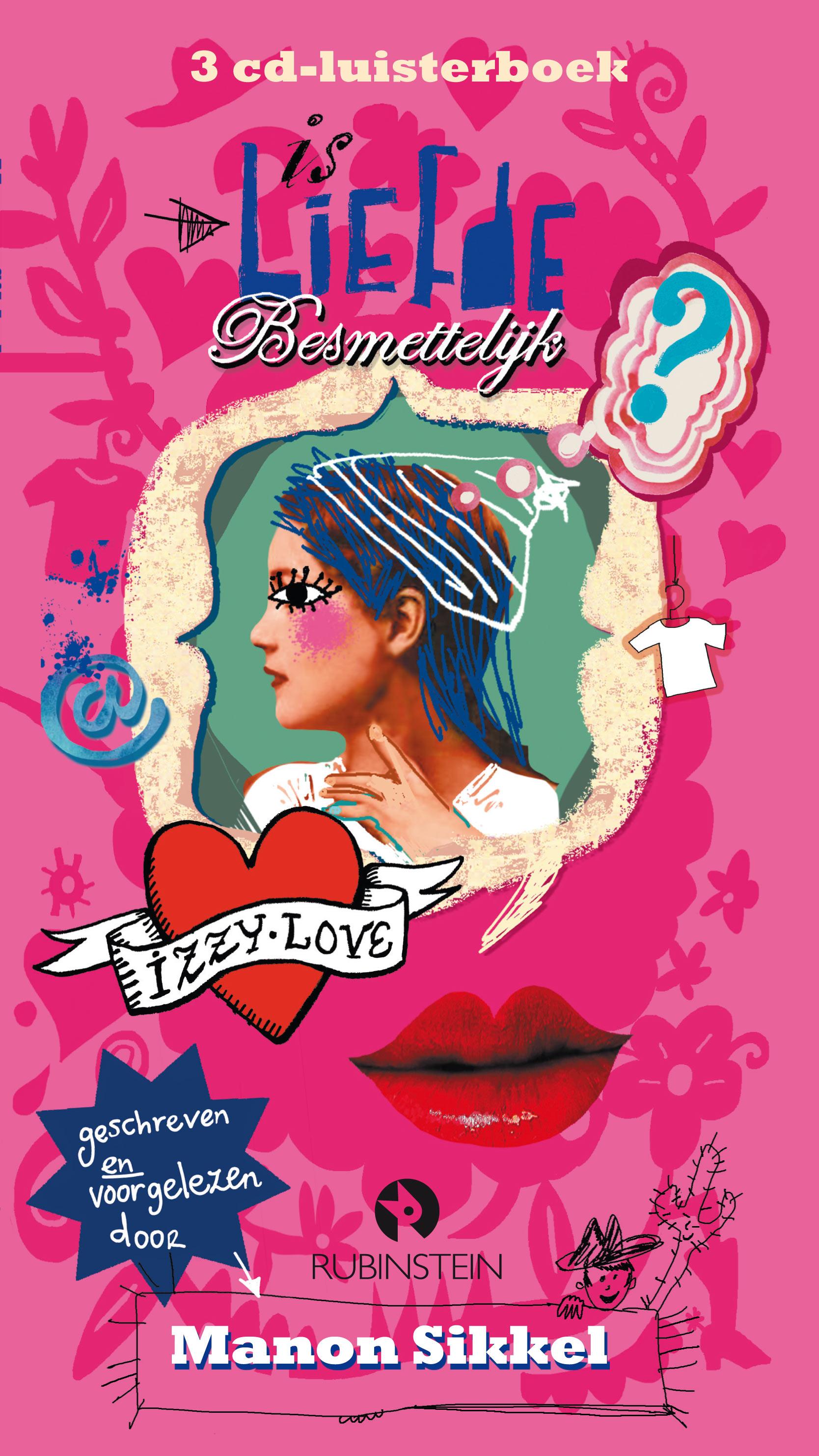 Is liefde besmettelijk? luisterboek Boek omslag