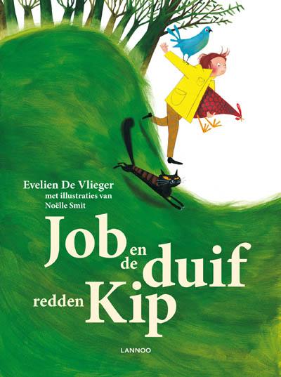 Job en de duif redden Kip Boek omslag