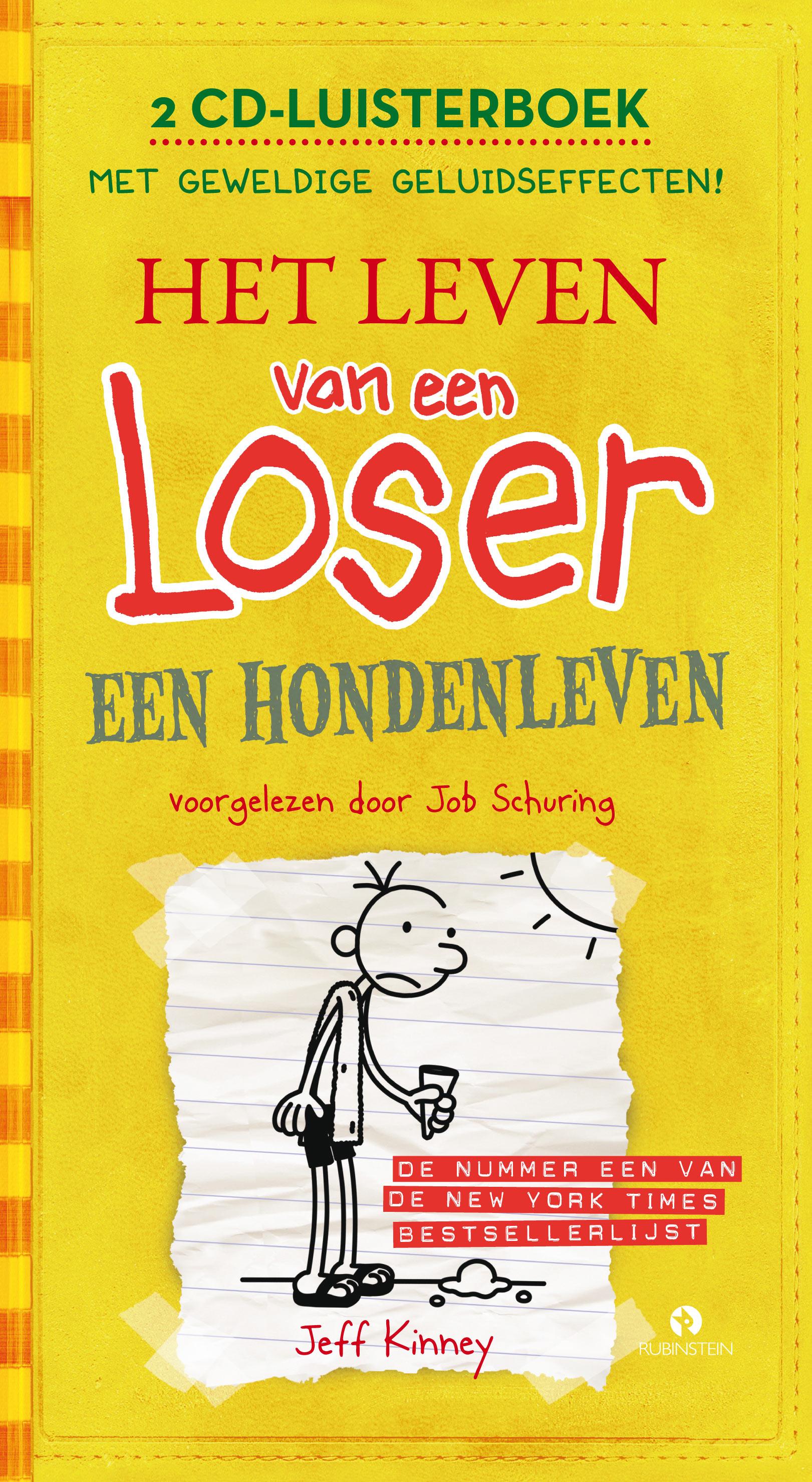 Leven van een Loser: een hondenleven luisterboek, het Boek omslag