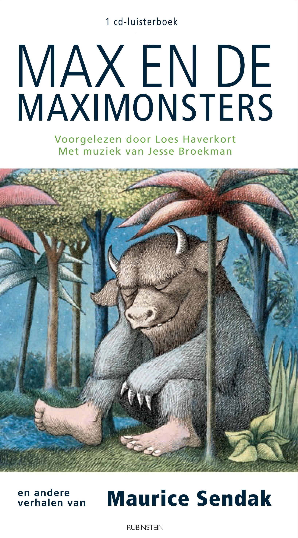 Max en de Maximonster luisterboek Boek omslag