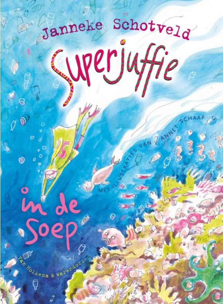 Superjuffie in de soep Boek omslag