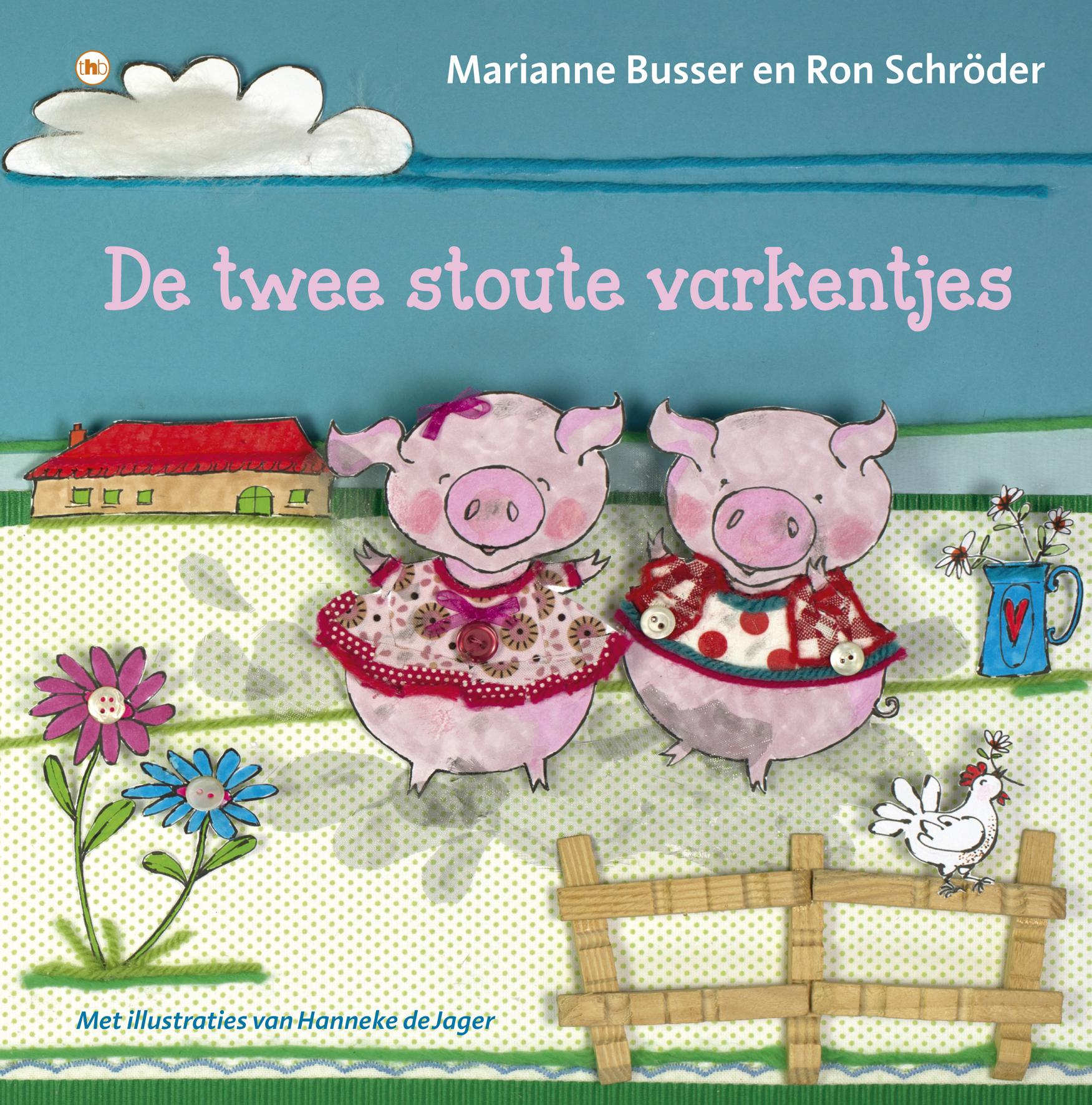 Twee stoute varkentjes, de Book Cover