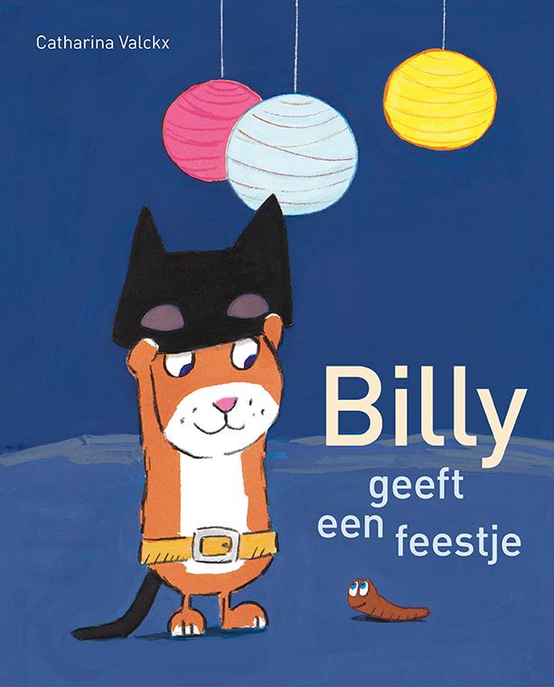 Billy geeft een feestje Boek omslag