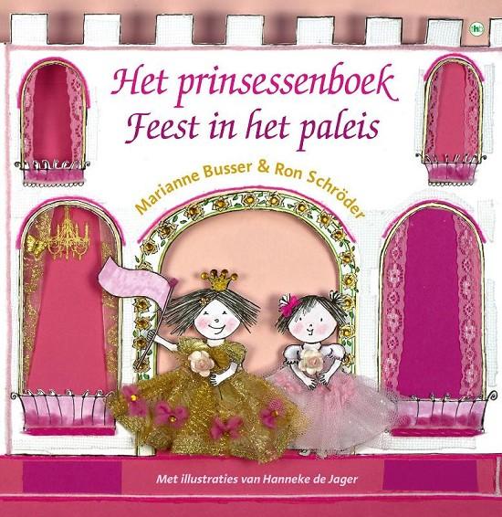 Prinsessenboek: Feest in het paleis, het Boek omslag