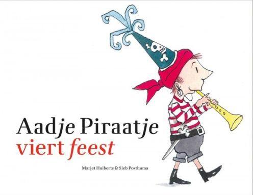 Aadje Piraatje viert feest Boek omslag