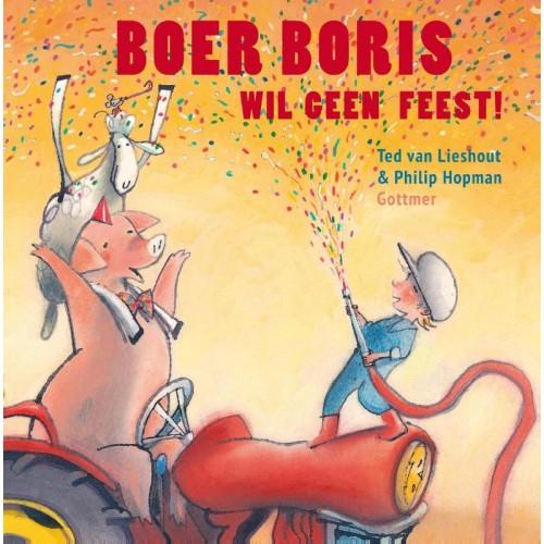 Boer Boris wil geen feest Boek omslag