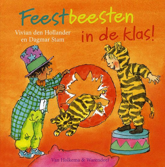 Feestbeesten in de klas Book Cover