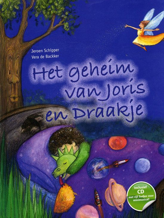Geheim van Joris en Draakje, het Boek omslag
