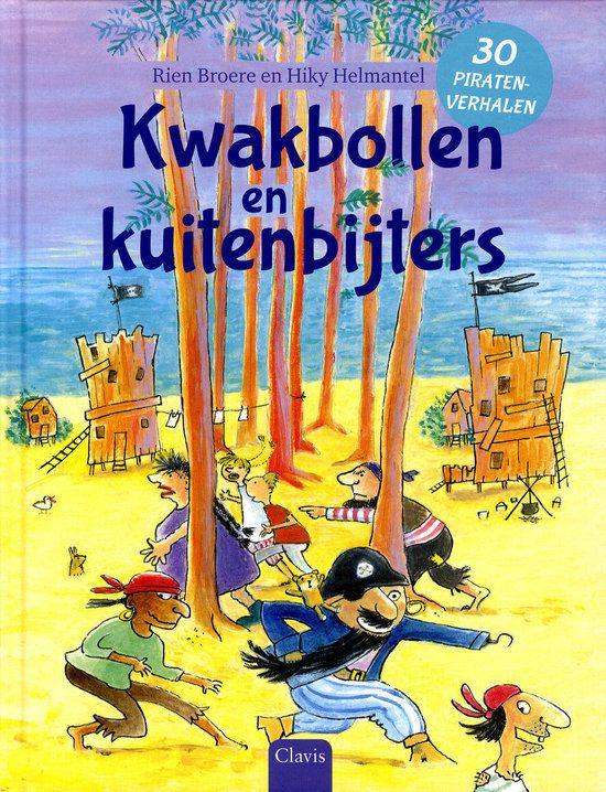 Kwakbollen en kuitenbijters Boek omslag