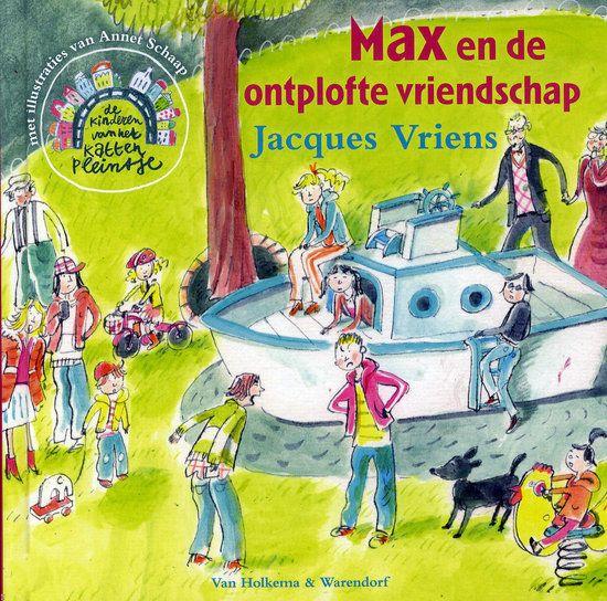 Max en de ontplofte vriendschap Boek omslag