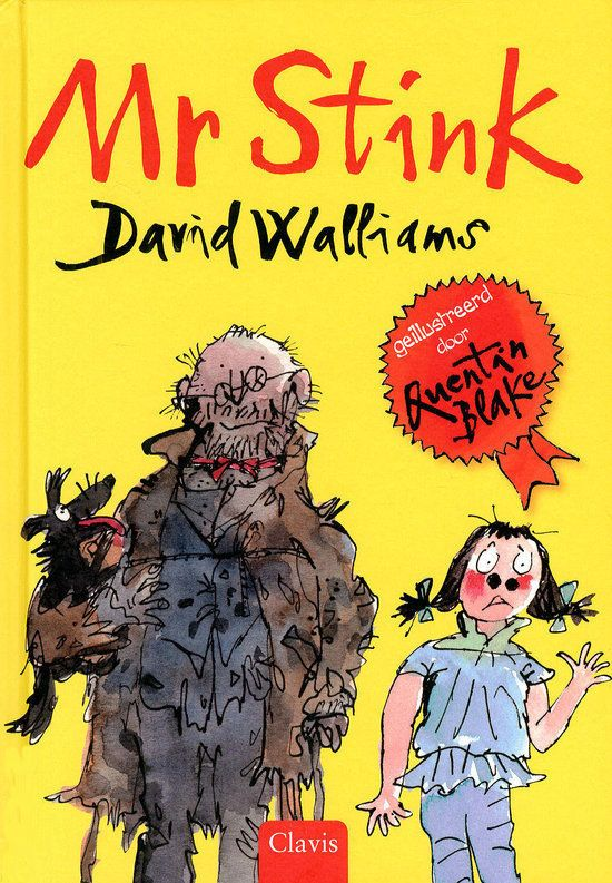 Mr Stink Boek omslag