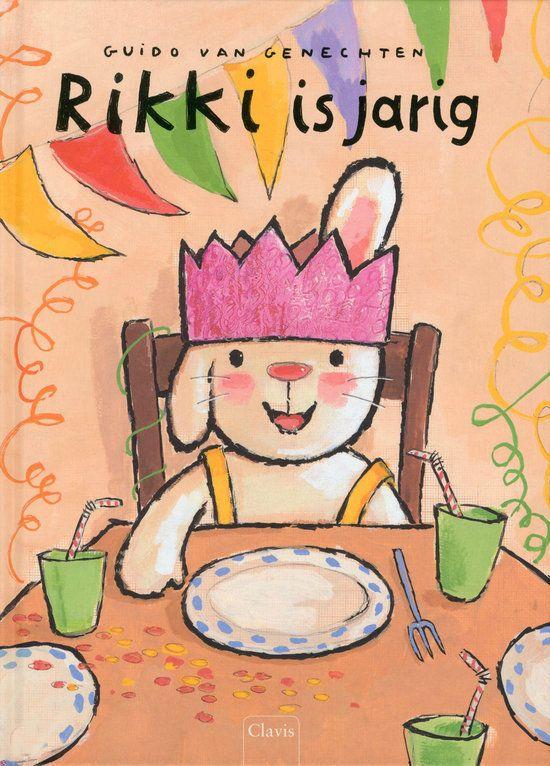 Rikki is jarig Boek omslag