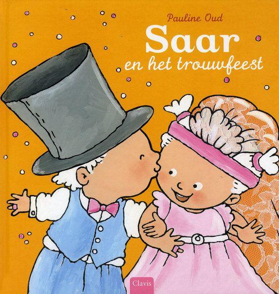 Saar en het trouwfeest Boek omslag