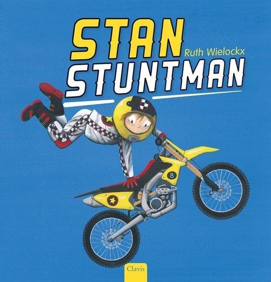 Stan Stuntman Boek omslag