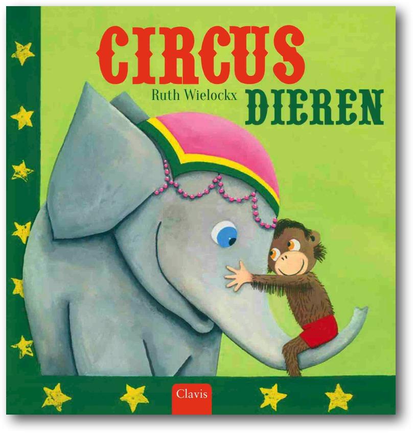 Circusdieren Boek omslag