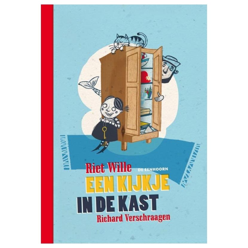 Kijkje in de kast, een Boek omslag