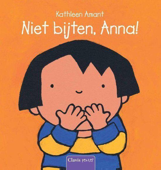 Niet bijten, Anna Boek omslag