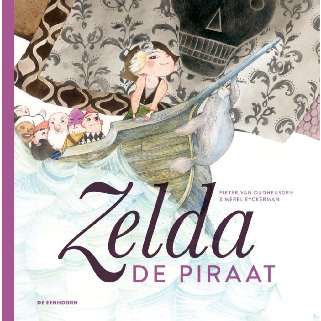 Zelda de Piraat Boek omslag