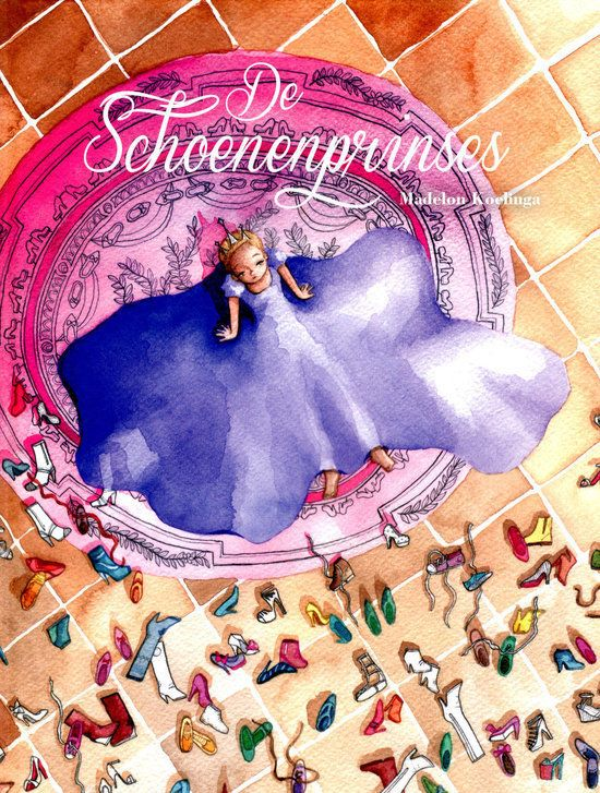 Schoenenprinses, de Boek omslag