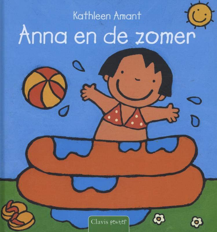 Anna en de zomer Boek omslag