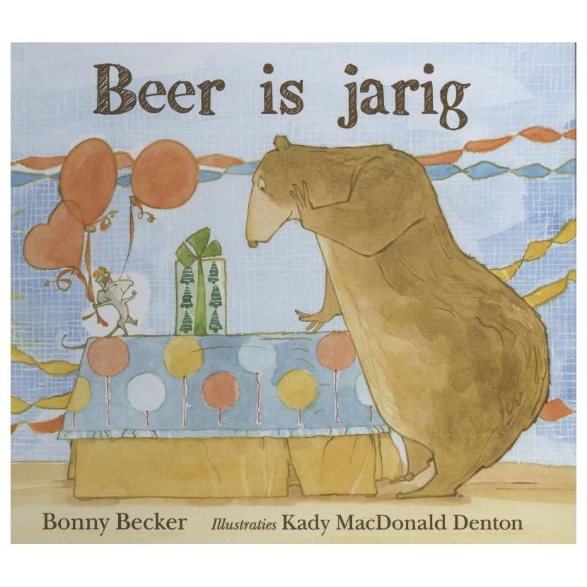 Beer is jarig Boek omslag