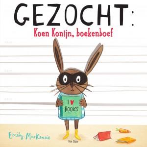 Gezocht Koen konijn, boekenboef jpg