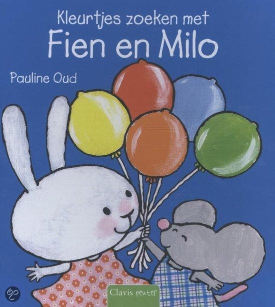 Kleurtjes zoeken met Fien en Milo Boek omslag