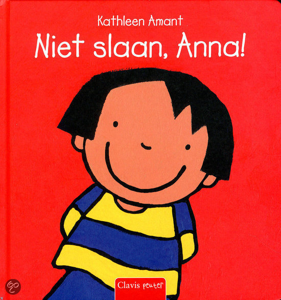 Niet slaan, Anna! Boek omslag