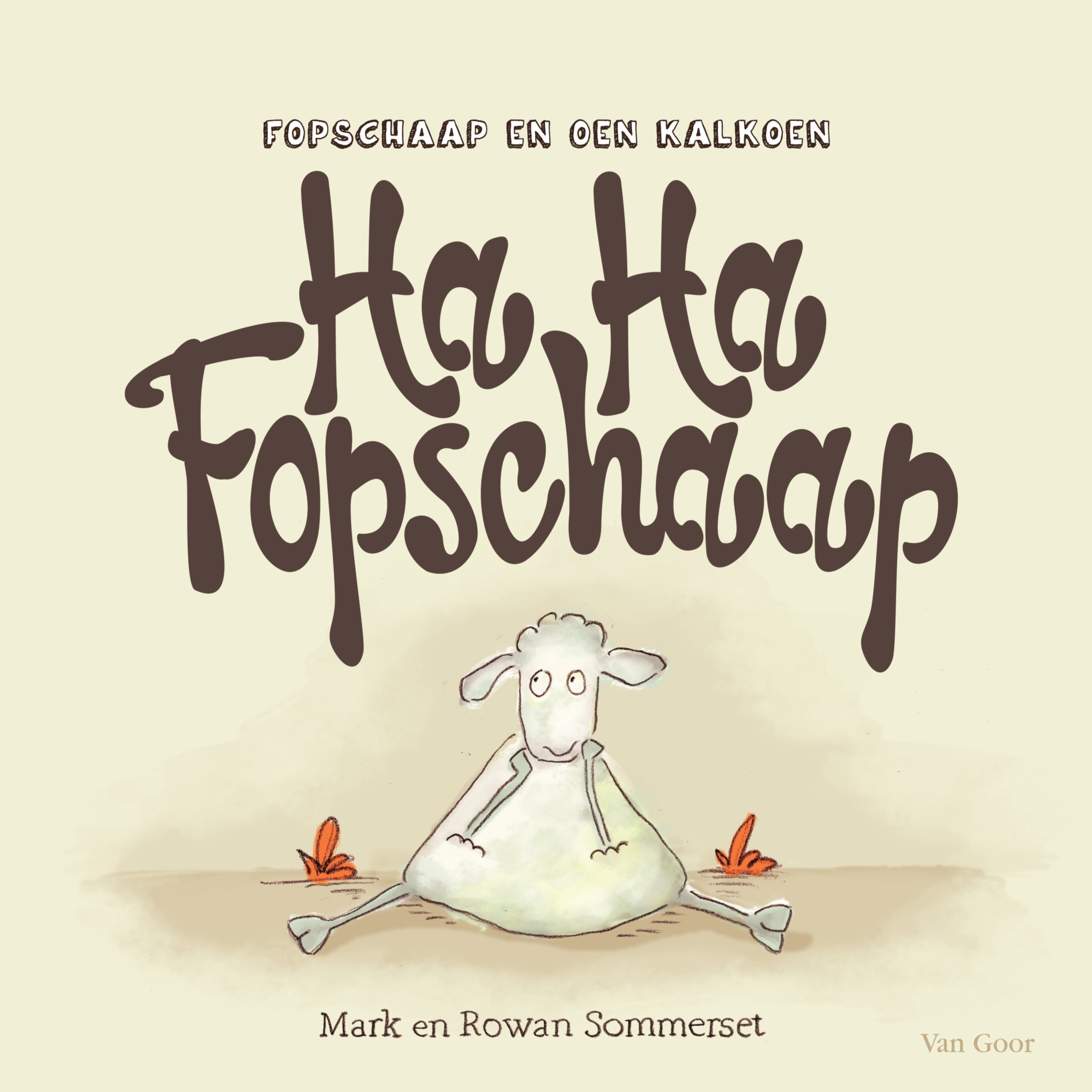 Ha Ha Fopschaap Book Cover