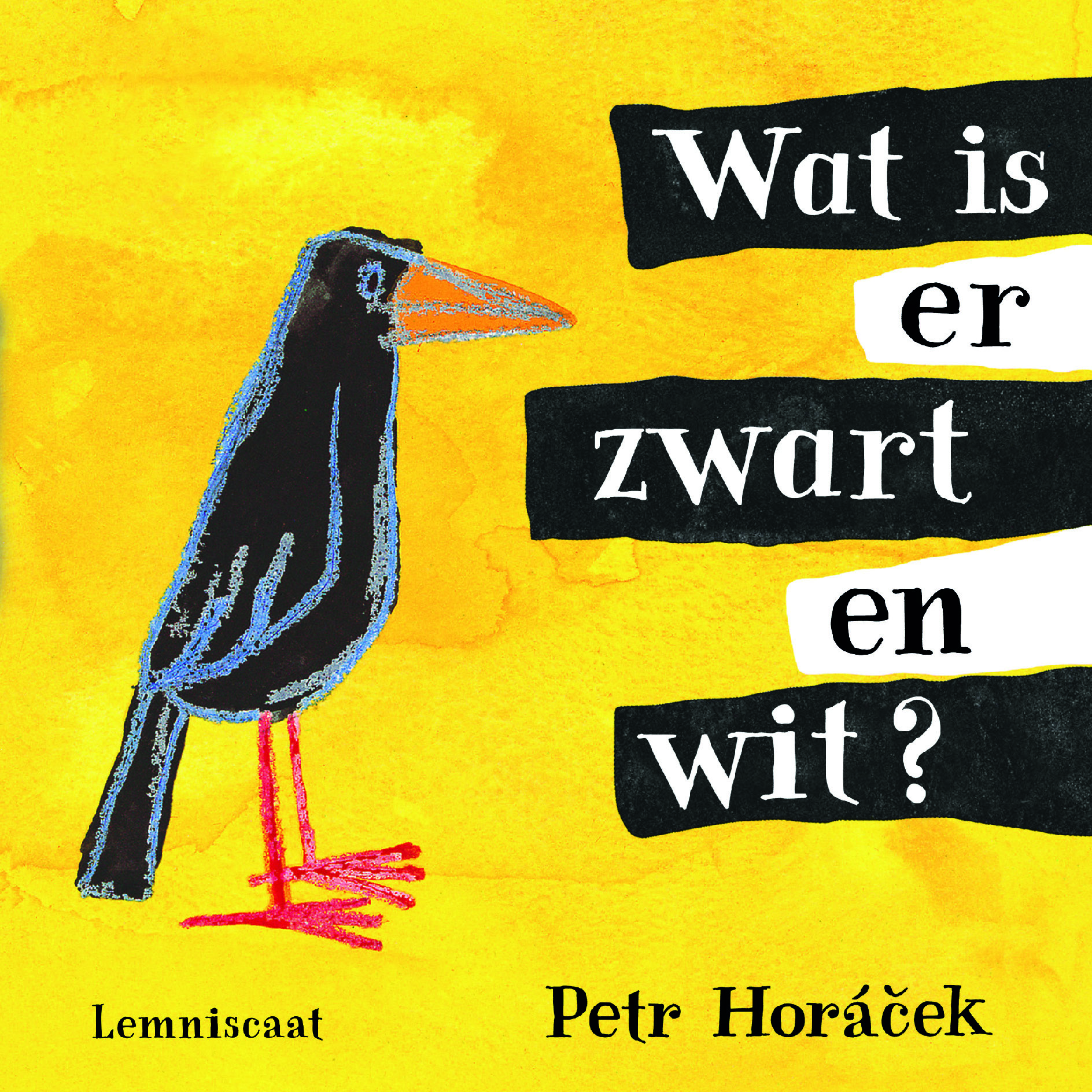 Wat is er zwart en wit? Book Cover