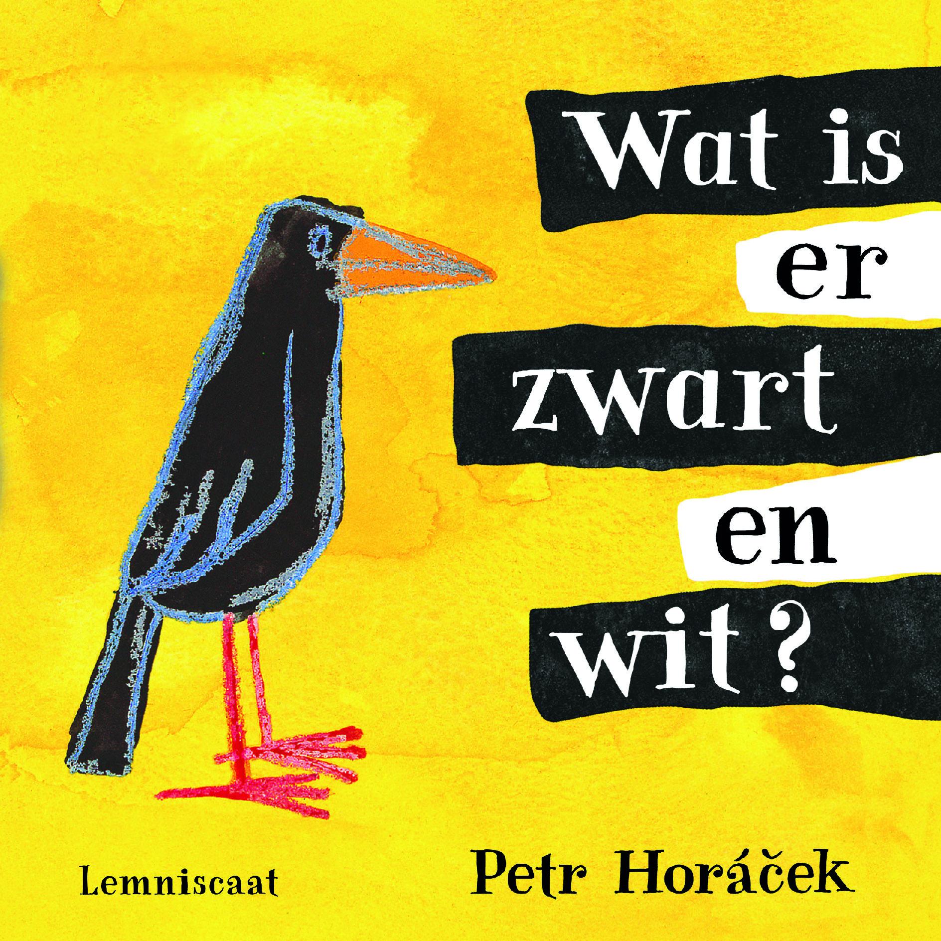 Wat is er zwart en wit? Book Cover