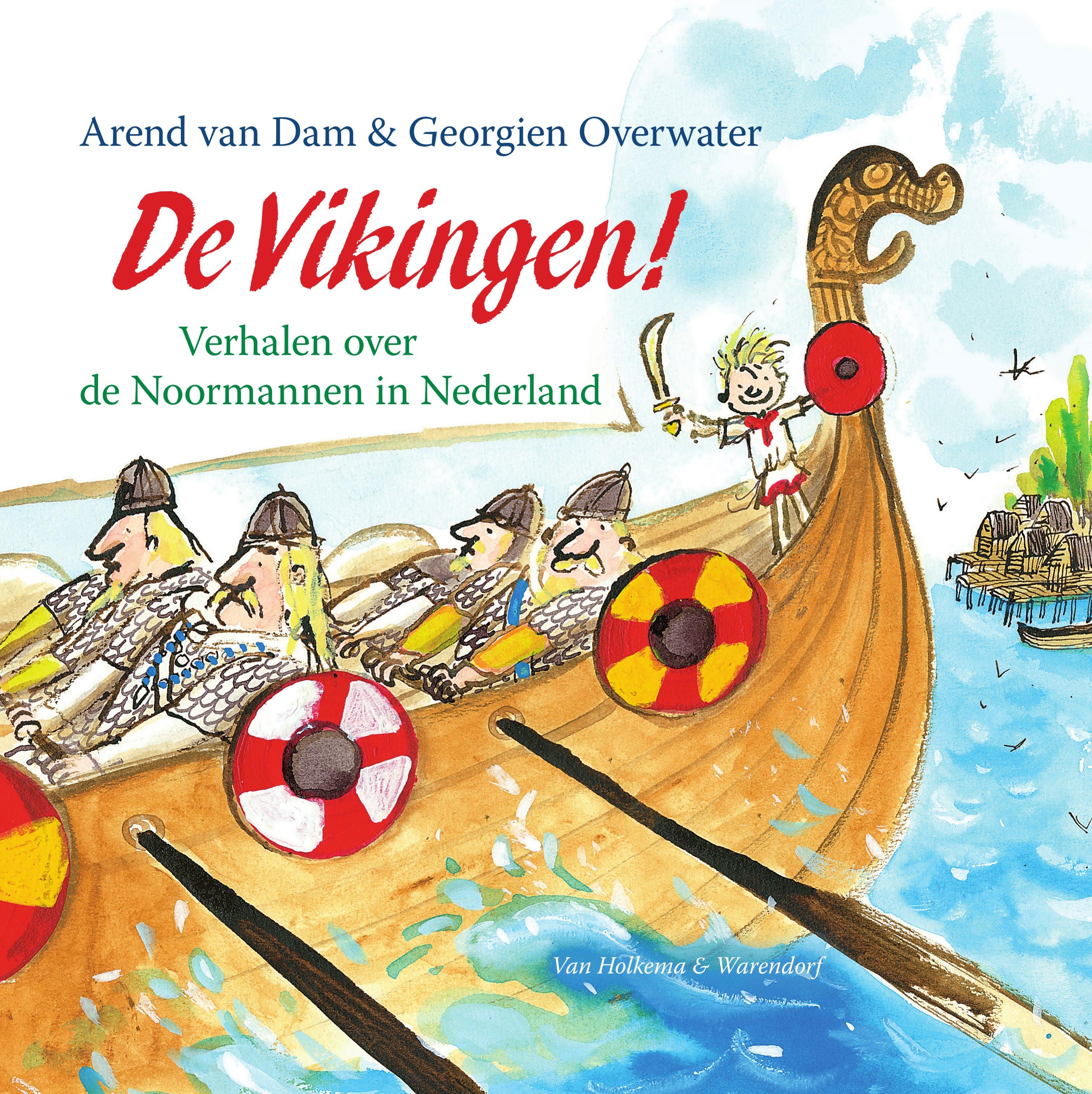 Vikingen, de Boek omslag