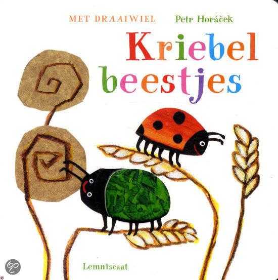 Kriebelbeestjes Boek omslag