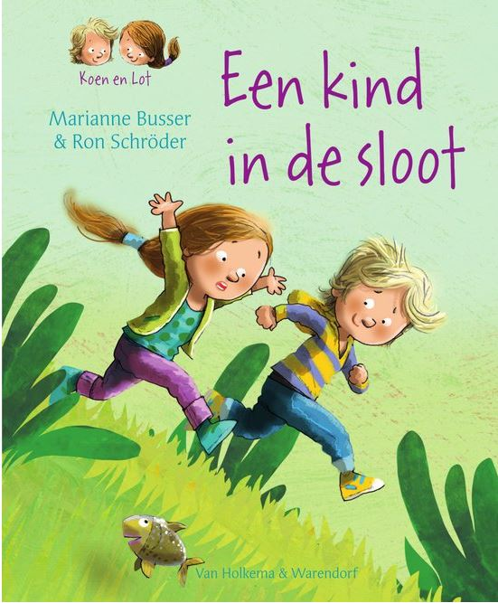 Kind in de sloot, een Book Cover