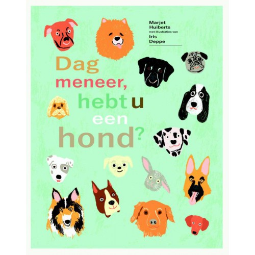 Dag meneer, hebt u een hond? Boek omslag