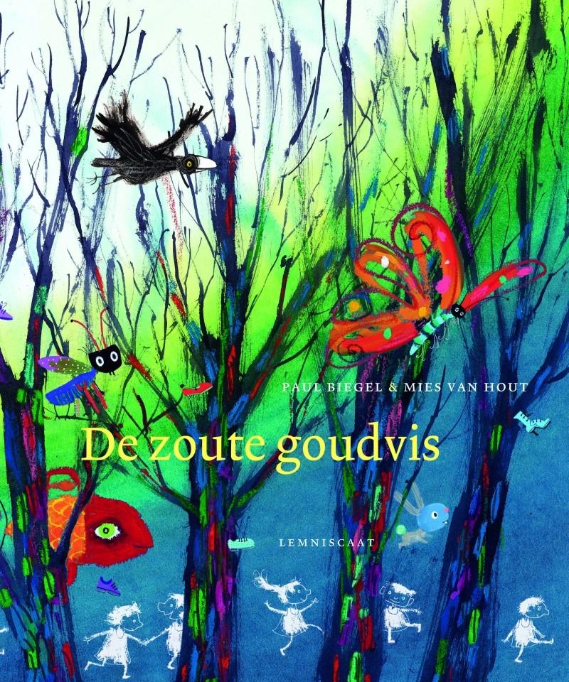 Zoute goudvis, de Boek omslag