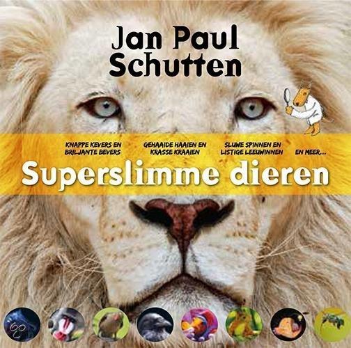 Superslimme dieren Boek omslag