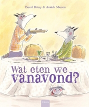 Wat eten we vanavond? Book Cover
