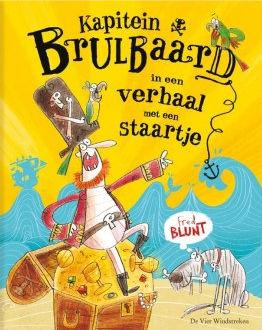Kapitein Brulbaard in een verhaal met een staartje Boek omslag