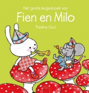 Grote liedjesboek van Fien en Milo, het Boek omslag