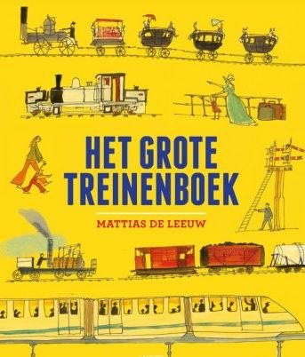 Grote treinenboek, het Boek omslag