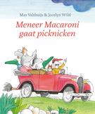Meneer Macaroni gaat picknicken Boek omslag