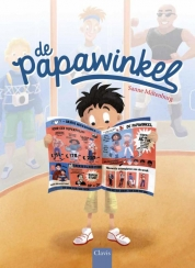 Papawinkel, de Book Cover