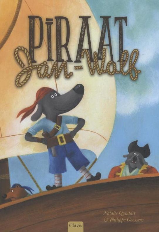 Piraat Jan-Wolf Boek omslag