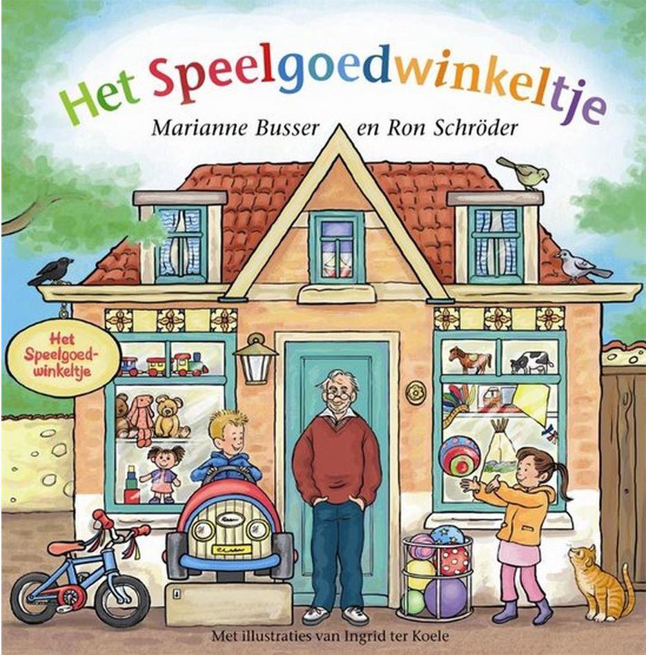 Speelgoedwinkeltje, het Book Cover